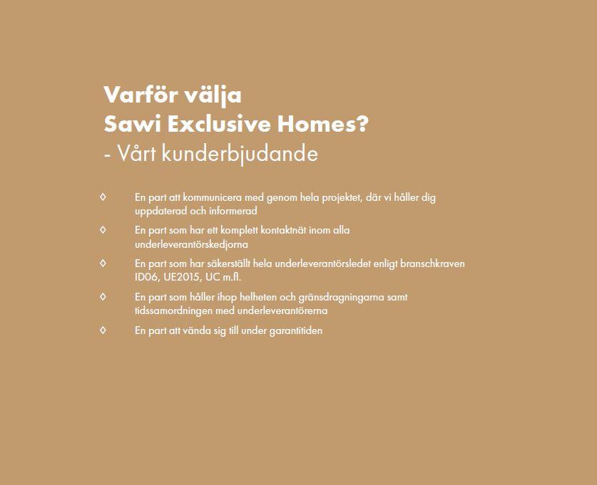 Kunderbjudande Sawi Exclusive Homes by Treano exklusiv villa i Ljunghusen med pool