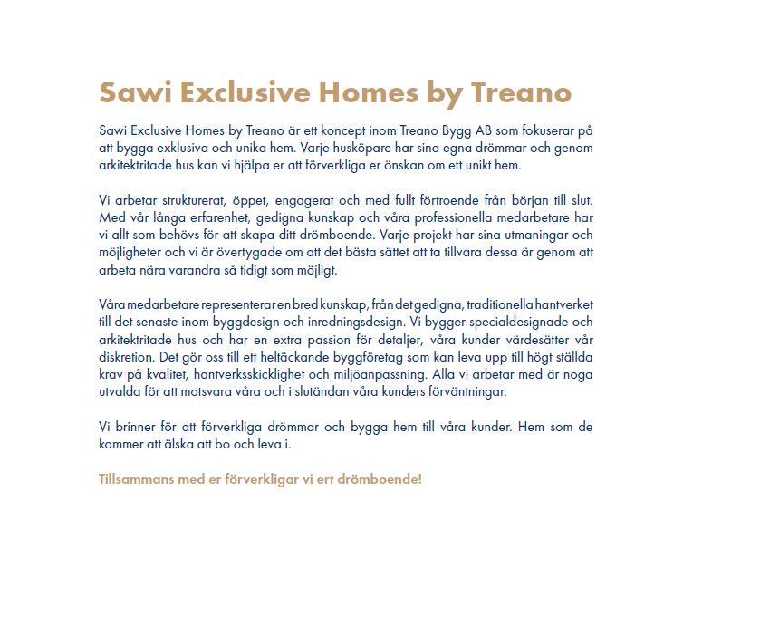 Exklusiv arkitektritad villa med pool, Sawi Exclusive Homes by Treano i Höllviken