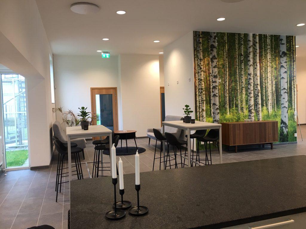 Kontorshotell Borgeby - gemensamhetsytor och kök